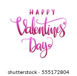 happy valentine's day.... | Shutterstock .eps vector #555172804