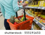 sale  shopping  consumerism and ... | Shutterstock . vector #555191653