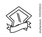 shield shape star and ribbon...