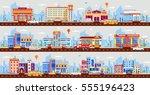 set stock vector illustration...   Shutterstock .eps vector #555196423