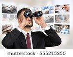 man. | Shutterstock . vector #555215350