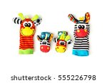 Colorful Hand Puppets And Wris...