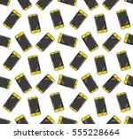 mobile phone. colored flat line ...   Shutterstock .eps vector #555228664