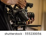 the camera man take photos and... | Shutterstock . vector #555230056