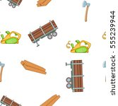 timber elements pattern.... | Shutterstock . vector #555239944