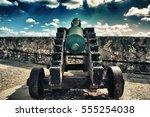 Old Cannon In Morro Castle