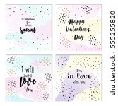 collection of 4 cute card