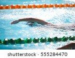 blurry background of splash... | Shutterstock . vector #555284470