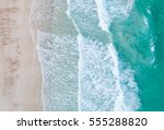 aerial view. top view.amazing... | Shutterstock . vector #555288820