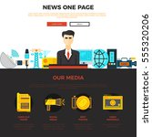 news and media one page web...