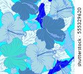 vector illustration. bright... | Shutterstock .eps vector #555329620