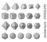 geometric shapes 1 | Shutterstock .eps vector #555331294
