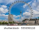 london  uk   may 25  2013  view ... | Shutterstock . vector #555350110