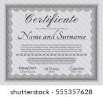 grey sample certificate. with...