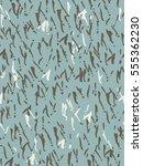 seamless pattern in blue  white ... | Shutterstock .eps vector #555362230