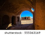 ruins near the tower of silence ... | Shutterstock . vector #555363169