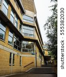 Small photo of BATH, UK - CIRCA SEPTEMBER 2016: HDR Department of Architecture and Civil Engineering at University of Bath designed by Peter and Alison Smithson architects