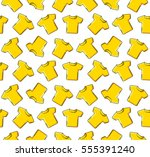 t shirt. colored flat line icon....   Shutterstock .eps vector #555391240