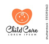 child care icon | Shutterstock .eps vector #555393463