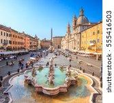 Piazza Navona  Rome  Italy ...