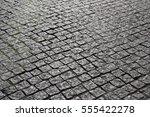 cobblestones  pavement | Shutterstock . vector #555422278