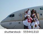 mecca  saudi arabia   26 nov.   ... | Shutterstock . vector #555441310