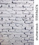 white wall background  brick... | Shutterstock . vector #555456376