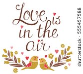"""""""love is in the air"""".... 