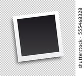 square frame template with... | Shutterstock .eps vector #555468328