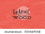 Wood Graphic Texture Drawing...