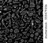 spain  seamless pattern for... | Shutterstock .eps vector #555479356