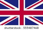 united kingdom flag | Shutterstock .eps vector #555487468