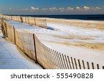 A Beach Along The New Jersey...