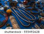 morocco   accessory at market  | Shutterstock . vector #555492628