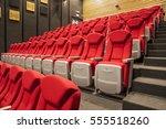 Empty Auditorium Red Seats