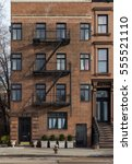 old building in brooklyn  ny. | Shutterstock . vector #555521110