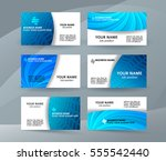 abstract professional and... | Shutterstock .eps vector #555542440