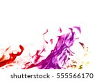 abstract fire flames white...   Shutterstock . vector #555566170
