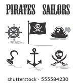 pirate icon | Shutterstock . vector #555584230