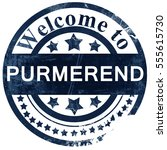 Purmerend Stamp On White...