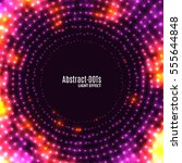 abstract vector background with ... | Shutterstock .eps vector #555644848