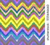 ethnic seamless zigzag pattern... | Shutterstock .eps vector #555646660