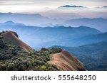 landscape of mount monjong in... | Shutterstock . vector #555648250