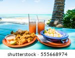 Conch Fritters And Conch Salad...