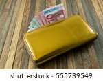 Women\'s Money Purse With Gold...