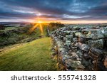 Hadrian's Wall At Walltown...