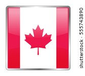 canada vector icon flag.... | Shutterstock .eps vector #555743890