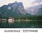 st. bartholomew's church ... | Shutterstock . vector #555744688