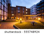pulse development in colindale  ... | Shutterstock . vector #555748924