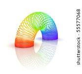 Rainbow Spiral Spring   3d...